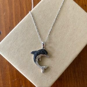 Jewelry - Sterling Silver Dolphin Necklace